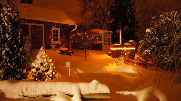 Joulun lämpöä talven kylmään sineen.
