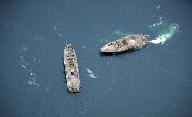 Jatkuvaa vedenalaista melua Itämerellä aiheuttaa muun muassa laivaliikenne.