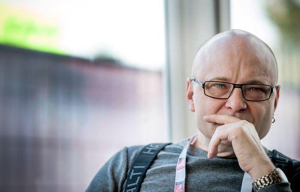 Tapio Suominen kertoo rankimpien aikojen olevan jo takanapäin.