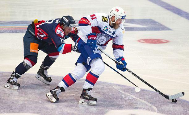 SKA-laituri Patrick Thoresen kantaa Norjan joukkueessa suurimman tähden viittaa.