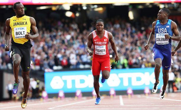 Välierän perusteella finaalin kovin kaksintaistelu tullaan näkemään Usain Boltin ja Christian Colemanin välillä.