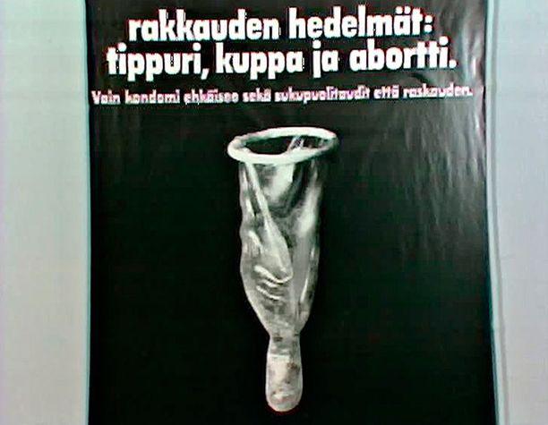 Televisiossa nähdään illalla sukupuolivalistusta 1970-luvun tyyliin.