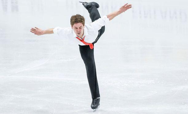 Horjahduksesta huolimatta Valtter Virtanen, 29, kertoi kyenneensä nauttimaan ensiesiintymisestään taitoluistelun MM-kisoissa.