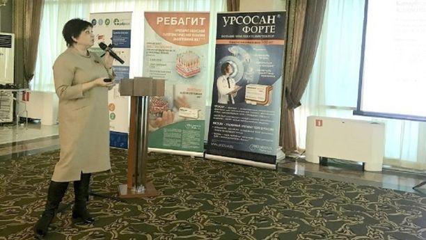 Irina Sannikova on tartuntatautien professori Stavropolin yliopistossa.