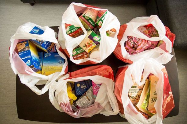 Yhteensä Lappeenrannan sairaalan lastenosastolle lahjoitettiin viisi kassillista ruokaa. Westpro4U on auttanut yli 3 000 lasta ja nuorta.