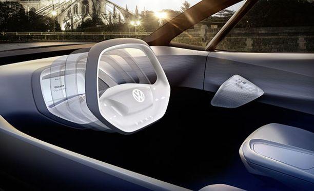 Volkswagen I.D. Nokkela idea, ratti piiloon.