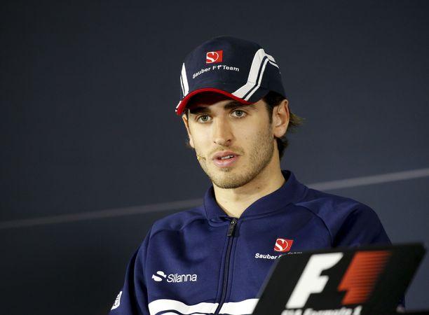 Antonio Giovinazzi on ensi kaudella Kimi Räikkösen tallikaveri.