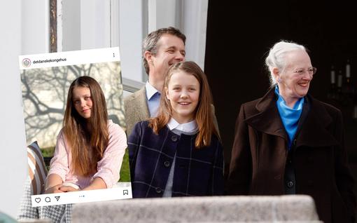 Tanskan prinsessa Isabella täytti 14 – katso tuoreet kuvat nuoresta kuninkaallisesta