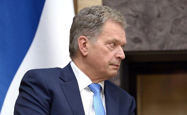 Presidentti Sauli Niinistö Moskovassa 22. maaliskuuta 2016.