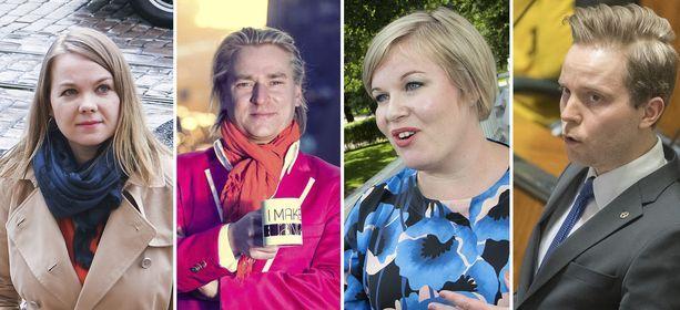 Neljä ehdokasta kisaa keskustan puheenjohtajuudesta Oulun puoluekokouksessa.