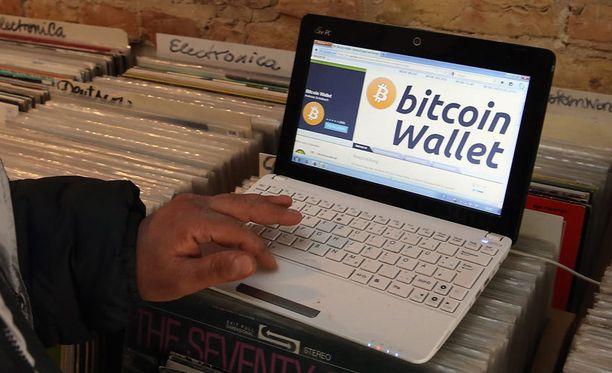 Bitcoinien arvo on noussut nopeasti.