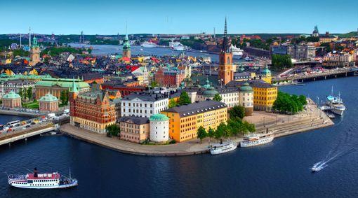 Mälaren-järven ja meren yhtymäkohdassa sijaitseva Tukholma on vedellinen kaupunki.