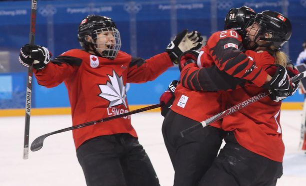 Kanada on suursuosikki etenemään naisten jääkiekon olympiafinaaliin USA:ta vastaan.