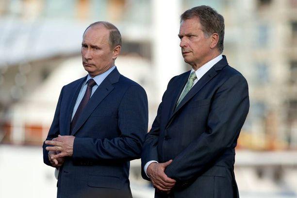 Putin ja Niinistö tapasivat Suomessa edelliskerran noin kolme vuotta sitten.