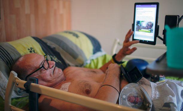 Alain Cocq oli päättänyt välittää kuolemansa suorana lähetyksenä Facebookissa protestina sille, että hänelle ei annettu lupaa eutanasiaan.