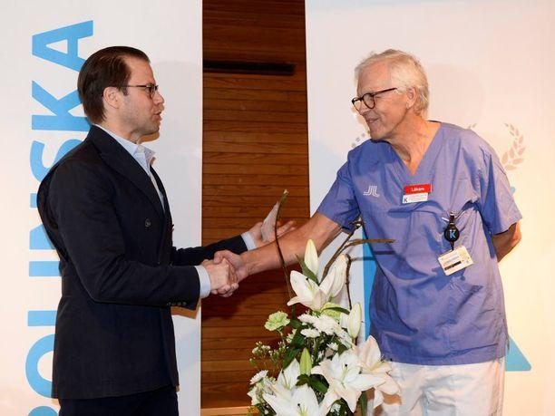 Prinssi muisti kiittää myös sairaalan henkilöstöä.