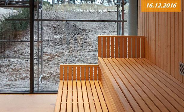 Suomalainen sauna löytyy myös.