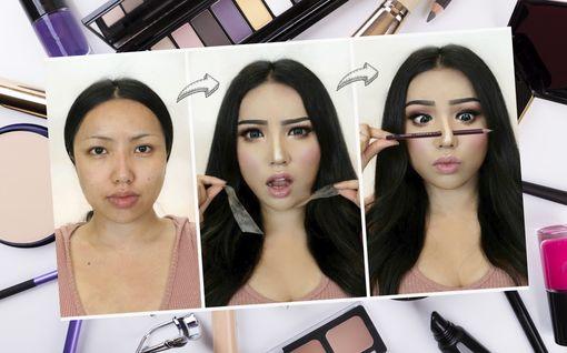 Aasialaiset meikkiartistit vievät meikkauksen uudelle tasolle – ulkonäkö muuttuu hämmästyttävällä tavalla