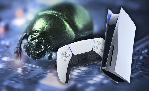 Playstation 5 -konsolilla on havaittu bugeja.