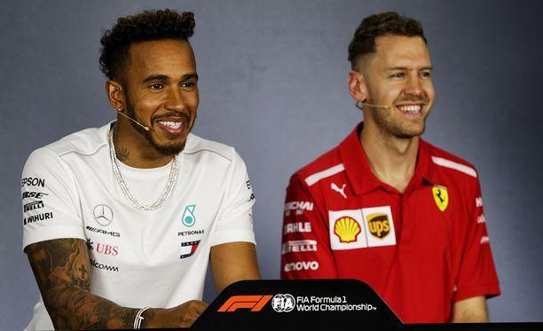 Lewis Hamiltonille tuli yllätyksenä, ettei Sebastian Vettelillä olekaan sosiaalisen median tiliä.