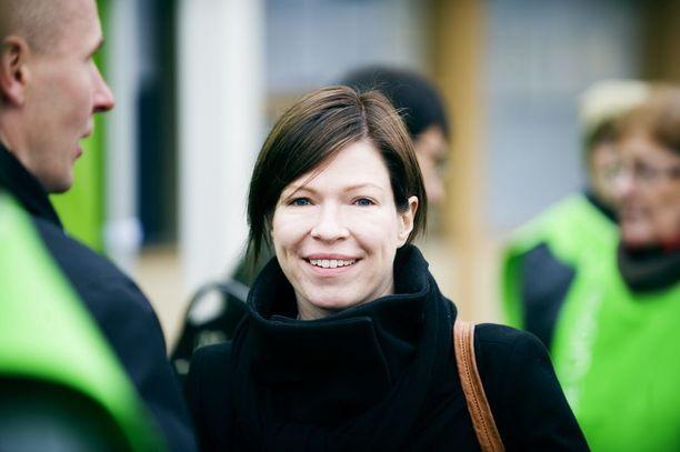 Anni Sinnemäki on vihreiden ehdokas Helsingin pormestariksi.