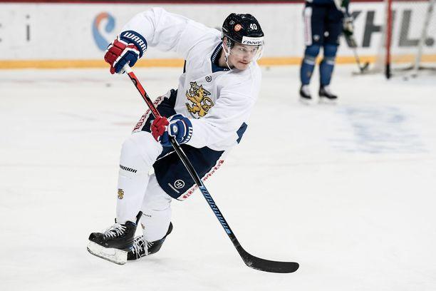 Jarno Koskiranta voitti MM-hopeaa keväällä 2016.