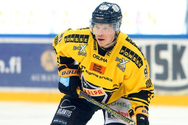 Janne Keränen teki viime kaudella 35 (19+16) pistettä KalPassa.