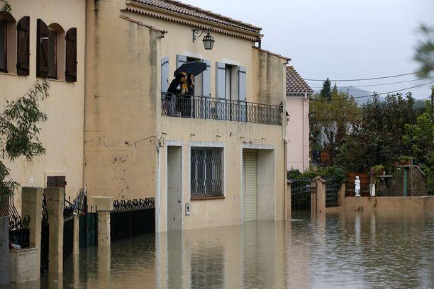 Tulvat ovat jatkuneet marraskuun lopusta saakka.