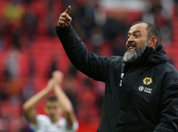 Entinen Valencia-luotsi Nuno Espirito Santo on virittänyt  Wolverhampton Wanderersin kovaan liitoon.