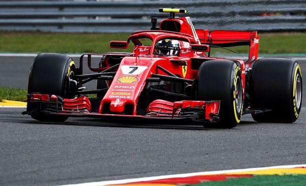 Kimi Räikkönen on voittanut Spassa peräti neljä kertaa.