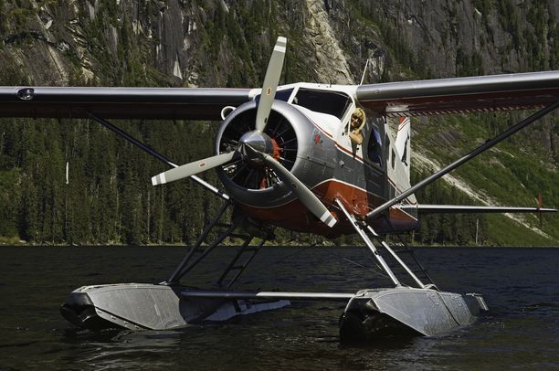 Tältä näyttää toinen onnettomuuskone, De Havilland Beaver DHC-2.