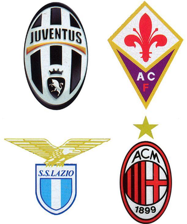 Neljästä syytettynä olleesta joukkueesta AC Milan (alh. oik.) vältti pudottamisen sarjaporrasta alemmas.
