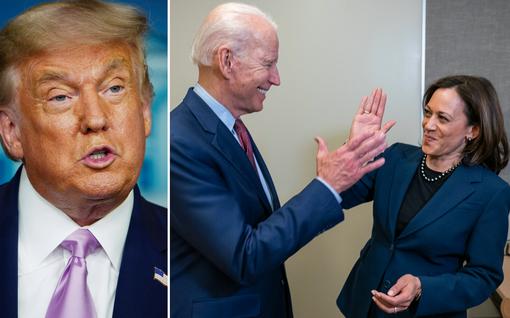 Trump ei aikaillut – loanheitto Kamala Harrisia kohti alkoi välittömästi