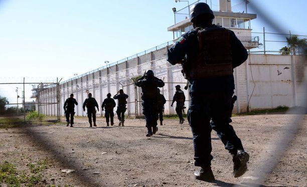 Meksikossa ainakin 29 vankia on karannut tunnelin kautta maan pohjoisosassa sijaitsevasta vankilasta. Kuvituskuva.