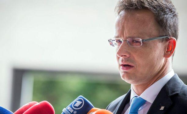 Unkarin ulkoministeri Péter Szijjártón mielestä Eurooppa ei ole siinä kunnossa, että se voisi vastaanottaa satojatuhansia pakolaisia.