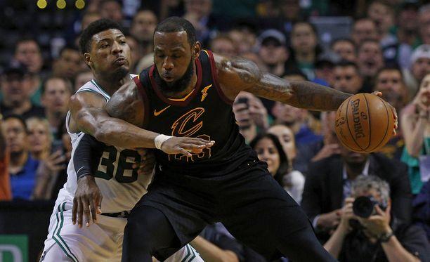 LeBron James johdatti joukkueensa jälleen NBA:n finaaleihin.