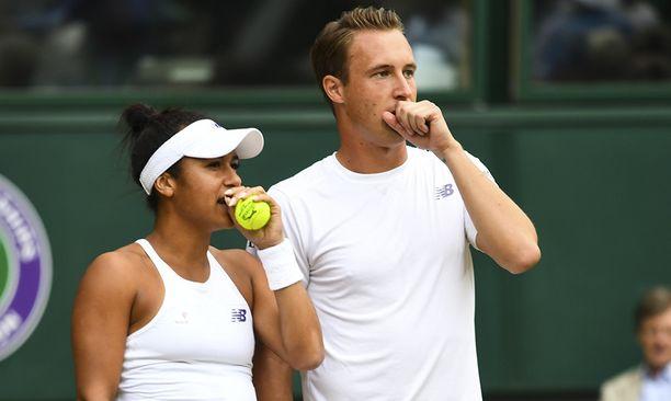 Heather Watson ja Henri Kontinen tavoittelevat toista perättäistä Wimbledonin sekanelinpelin voittoa.
