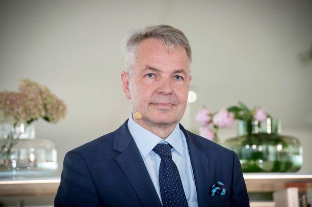 Ulkoministeri Pekka Haavisto korosti Suomen roolia kokoaan suurempana toimijana maailmanpolitiikassa.