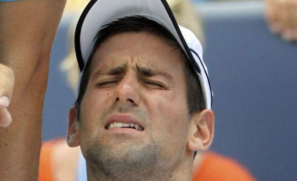 Novak Djokovic hävisi vasta toisen ottelunsa koko vuonna.