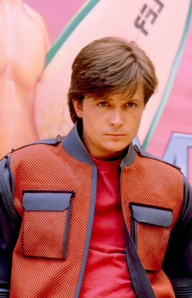 Paluu tulevaisuuteen -elokuvat tekivät miehestä ison tähden. Michael J. Fox vuonna 1989.