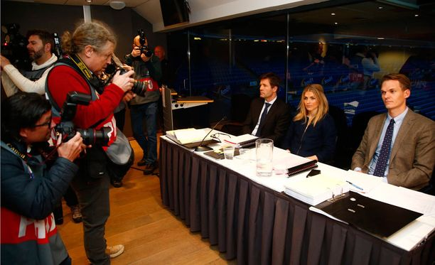 Therese Johaugia kuultiin Oslossa järjestetyssä dopingkäsittelyssä.