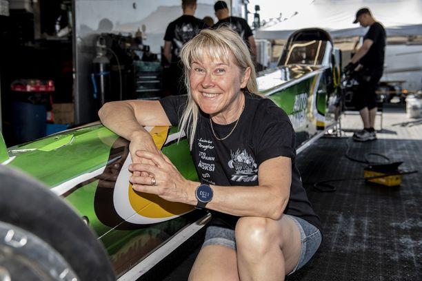 Anita Mäkelä haluaa tehdä loppunopeuden Euroopan ennätyksen.