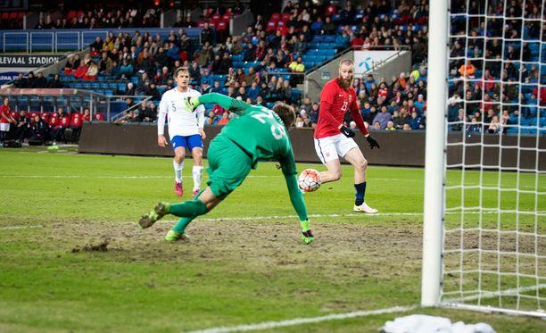 Norja kaatoi Suomen 2-0.
