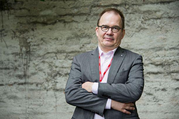 Antti Pelttari on johtanut Suojelupoliisia vuodesta 2011 alkaen.