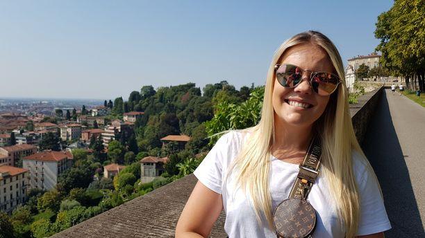 Kun vanhemmat muuttivat pois, Tilda Nuutinen halusi jäädä asumaan yksin Bergamoon.