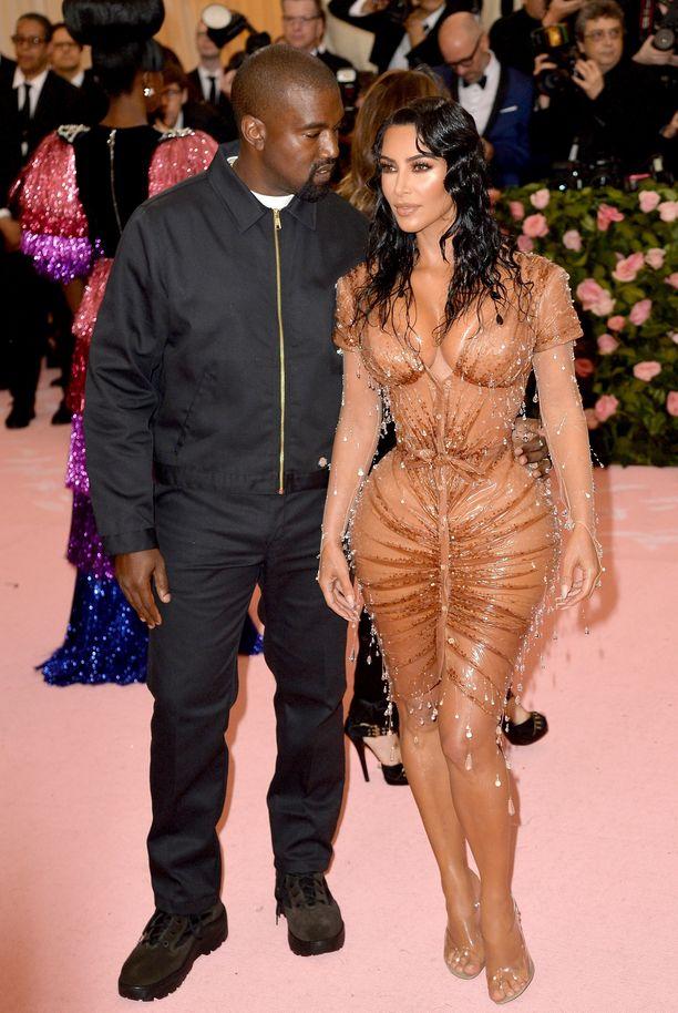Kim Kardashian ja Kanye West ovat olleet naimisissa vuodesta 2014.