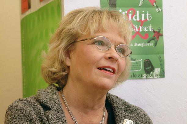 Ritva Siikala jää kaipaamaan ystäväänsä Maija Karhia.