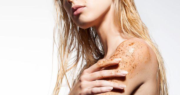 Kahvinpuruilla ihon saa kuorittua pehmeäksi ja sileäksi.