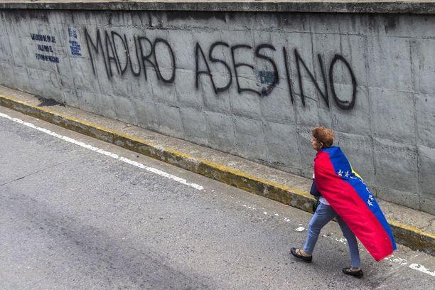 Maduron vastaiset mielenosoitukset ovat jatkuneet nelisen kuukautta.