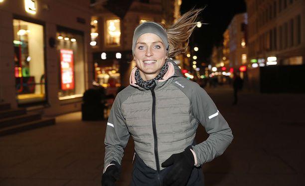 Therese Johaug osallistui marraskuussa sponsoritapahtumaan Oslossa.